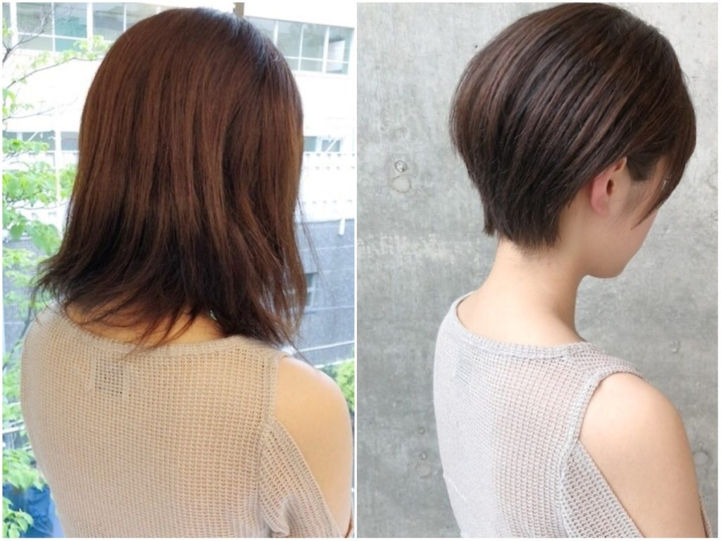 絶壁 髪型 女性