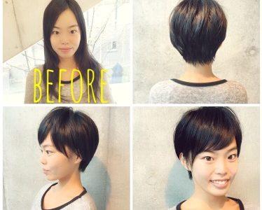 【ぺたんこさんを救う】カットで解決する小顔ショートヘア