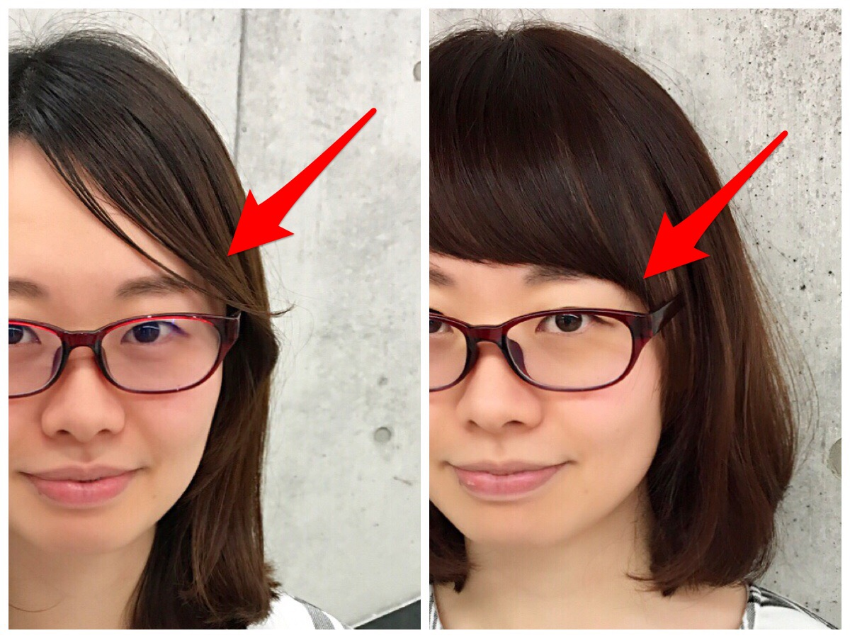 メガネをかけた時の様々な前髪の問題を解決してみた ...
