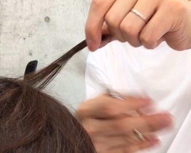 ペタンコで細毛さんをふんわりショートヘアにするカット方法!