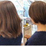 膨らむからと断られ続けてきた髪は、ショートにして本当に膨らむのか。