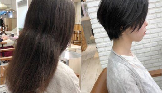 多毛で膨らんでも柔らかいくせがあればショートヘアにできる